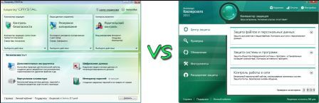 Kaspersky Crystal vs. Kaspersky IS 2011