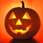 halloween-светящаяся тыква