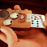 Активация телефона с помощью перфокарты