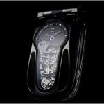 Телефон с элементами механики