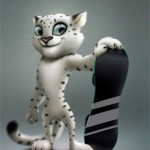 Талисман Сочи-2014. Леопард