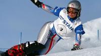 Российская сноубордистка Екатерина Тудегешева