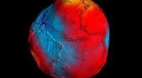 Самая точная карта геоида