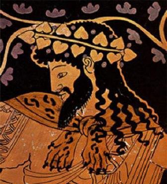 Бог виноделия Дионис