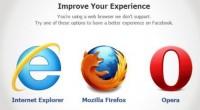 Facebook рекомендует браузер Opera вместо Chrome
