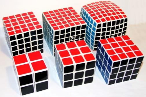 Кубик рубика разных размеров