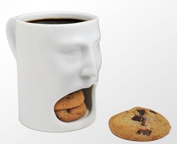 Чашка, в которую можно положить печеньки