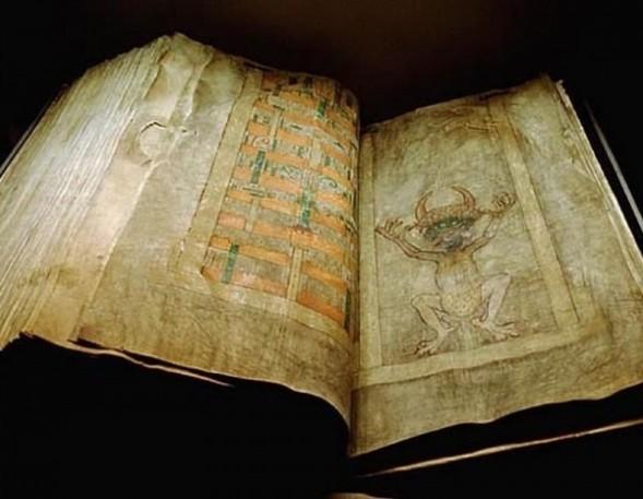 Самая большая книга в мире - «Библия Дьявола»